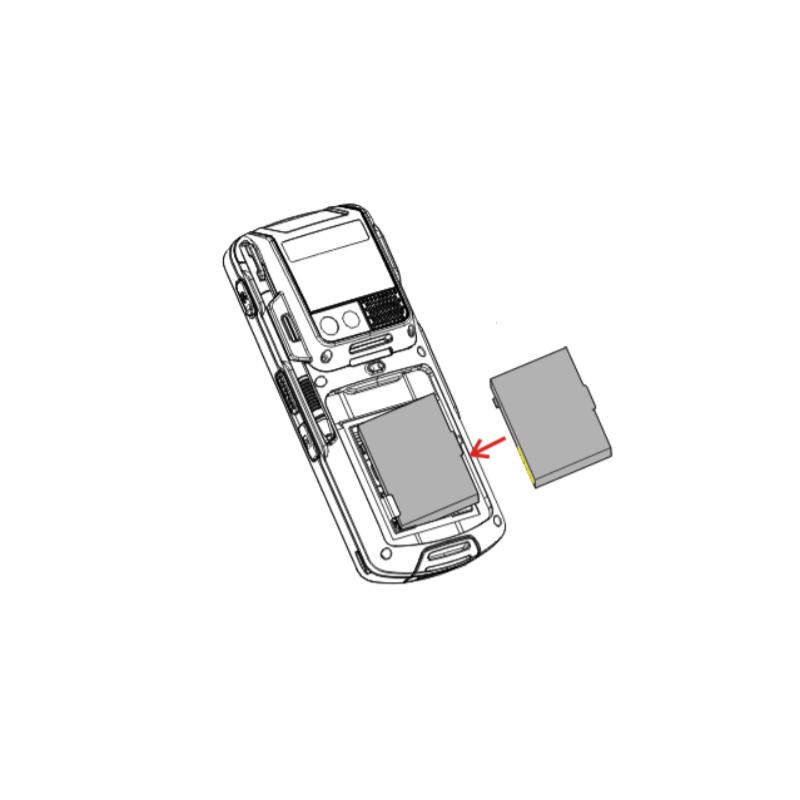 Bateria do terminala CipherLab CP50, CipherLab CP50-R