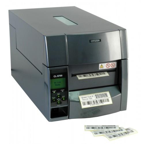 Półprzemysłowa drukarka etykiet i wszywek Citizen CL-S703R