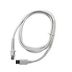 Kabel USB, biały, 2m, prosty do czytników Datalogic