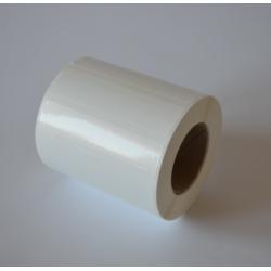 Etykiety foliowe 80x20 mm białe - 1000 szt.