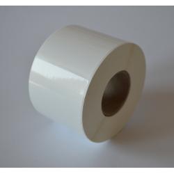 Etykiety foliowe 40x30 mm białe - 1000 szt.