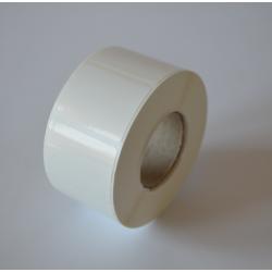 Etykiety foliowe 35x25 mm białe - 2000 szt.