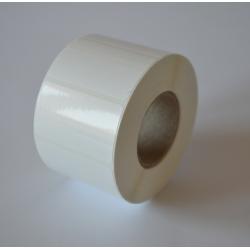 Etykiety foliowe 32x20 białe - 1000 szt.