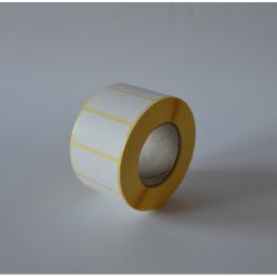 Etykiety papierowe 40x15 mm - 2000 szt.
