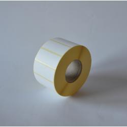 Etykiety papierowe 50x20 mm - 2000 szt.