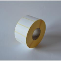 Etykiety papierowe 50x25 mm - 2000 szt.
