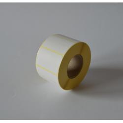 Etykiety termiczne 50x30 mm - 1500 szt.