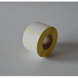 Etykiety termiczne 50x40 mm - 1500 szt.