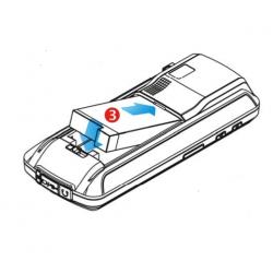 Bateria do terminala CipherLab CP30