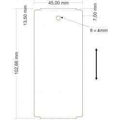 Zawieszka bezklejowa do roślin 45x103 mm z perforacją