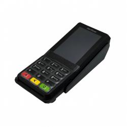 Folia ochronna na klawiaturę terminala płatniczego Verifone VX820 z szarą ramką