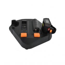 2-portowa ładowarka z zasilaczem do czytników Unitech MS632 oraz baterii do terminali Unitech WD100