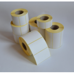 Etykiety papierowe 36x85 mm - 1000 szt.