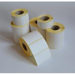 Etykiety papierowe 80x121 mm - 500 szt.