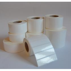 Etykiety foliowe 100x100 mm - 1000 szt.