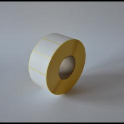 Etykiety papierowe 40x25 mm - 1000 szt.