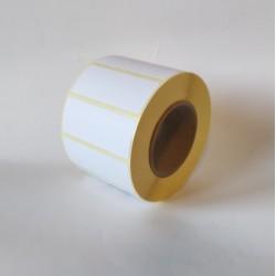 Etykiety papierowe 50x20 mm - 1000 szt.