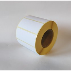 Etykiety papierowe 60x25 mm - 1000 szt.