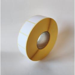 Etykiety papierowe 25x25 mm - 2000 szt.