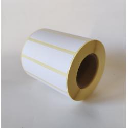 Etykiety papierowe 80x25 mm - 1000 szt.