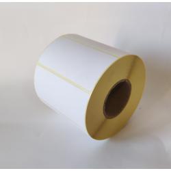 Etykiety papierowe 80x40 mm - 1000 szt.