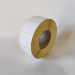 Etykiety papierowe 32x25 mm - 1500 szt.