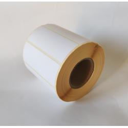 Etykiety papierowe 80x30 mm - 1000 szt.