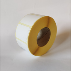 Etykiety termiczne 40x30 mm - 1000 szt.