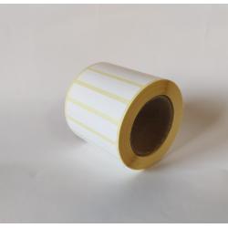 Etykiety termiczne 55x11 mm - 1000 szt.