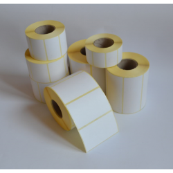 Etykiety papierowe 40x68 mm - 1000 szt.