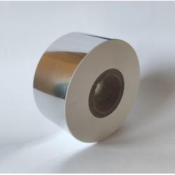 Taśma termotransferowa 33x300mb tekstylna biała (do zadruku satyny i nylonu)