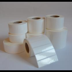 Etykiety foliowe 100x50 mm - 1000 szt. klej mocny