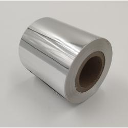 Taśma termotransferowa 55x150 mb tekstylna biała (do zadruku satyny i nylonu)