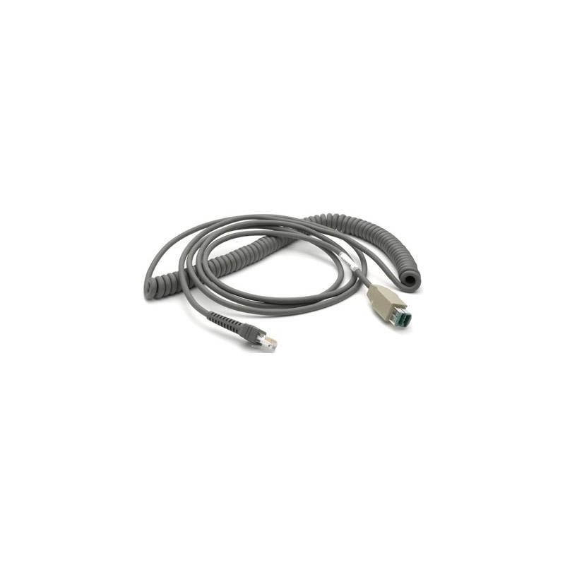 Kabel USB sprężynowy do czytników Zebra