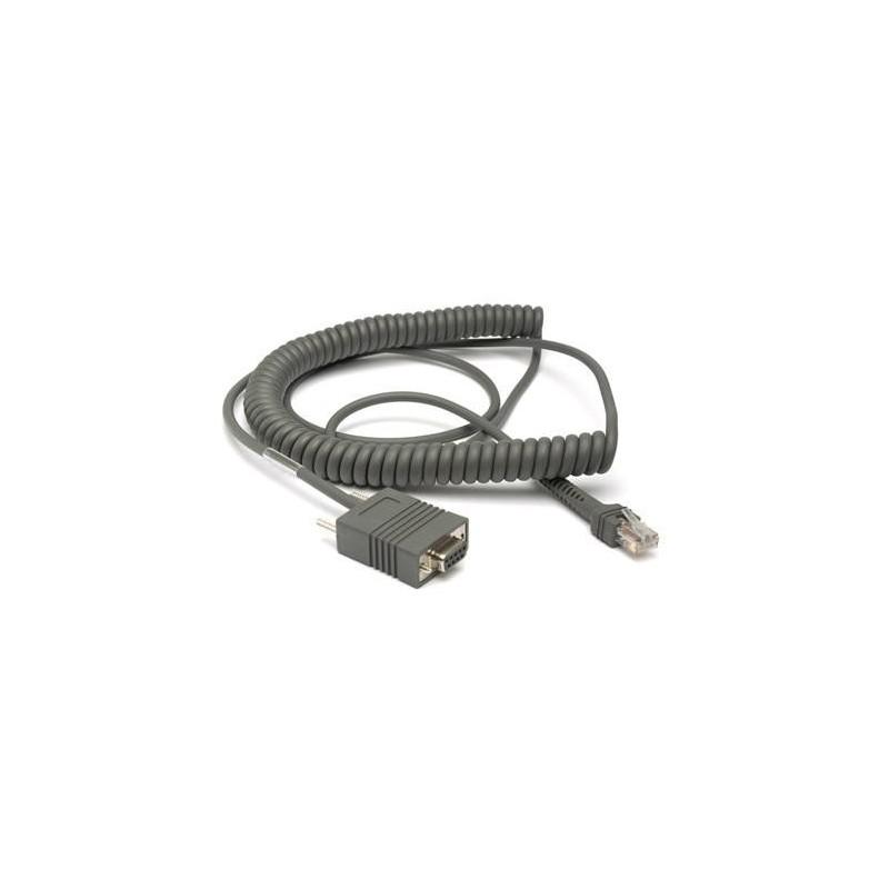 Kabel RS232, 3,7m, do czytników Zebra