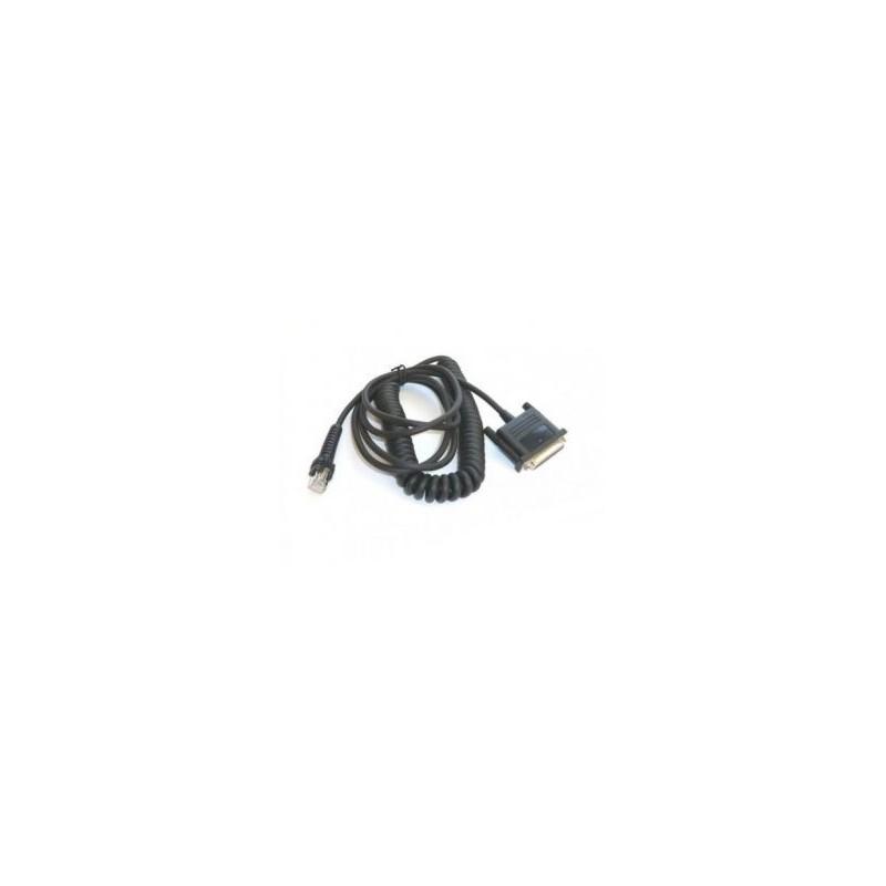 Kabel RS232, 7,6m do czytników Datalogic