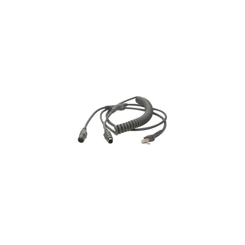 Kabel PS/2, 2.7m, do czytników Motorola