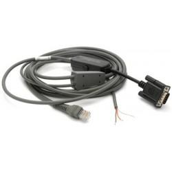 Kabel RS232, 2,8m, do czytników Zebra