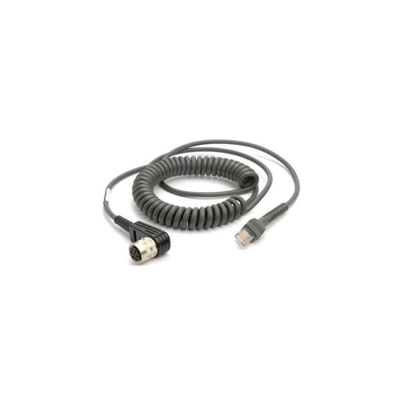 Kabel RS232, 2,8m, do czytników Motorola
