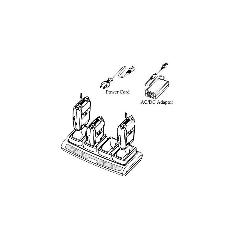 4-portowa ładowarka do drukarki Zebra EM220II