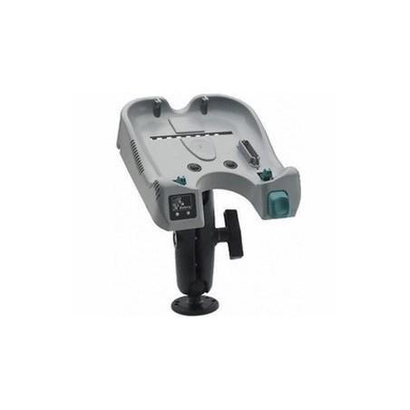 Uchwyt samochodowy wraz z zintegrowaną ładowarką i adapterem do zapalniczki samochodowej do Zebra RW420
