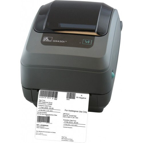 Biurkowa drukarka Zebra GX430t