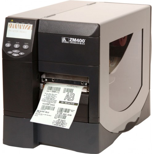 Półprzemysłowa drukarka Zebra ZM400