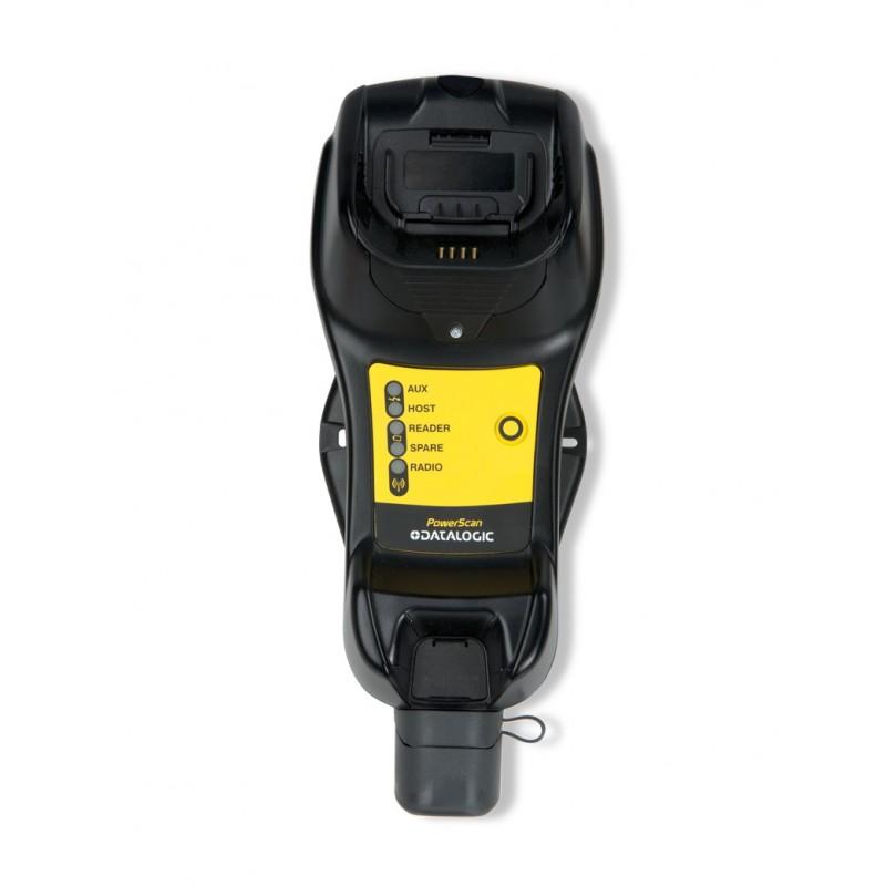 Baza komunikacyjno-ładująca ze slotem na baterię i Ethernetem do czytnika Datalogic PowerScan PBT9500, PBT9501