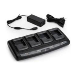4-portowa ładowarka baterii z zasilaczem do drukarki Zebra ZQ110